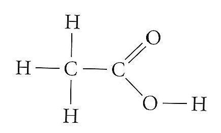 What Is The Structural Formula For Vinegar Quora