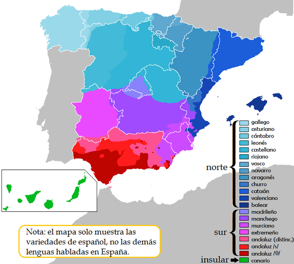 How is Toledo Spanish different from Madrid Spanish? - Quora