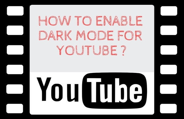 how to activate dark theme youtube
