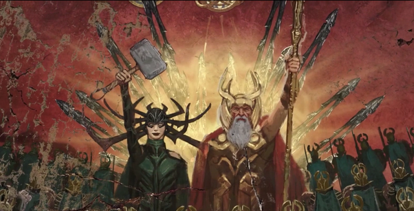 How and why was Hela (Thor's sister) worthy to lift Thor's