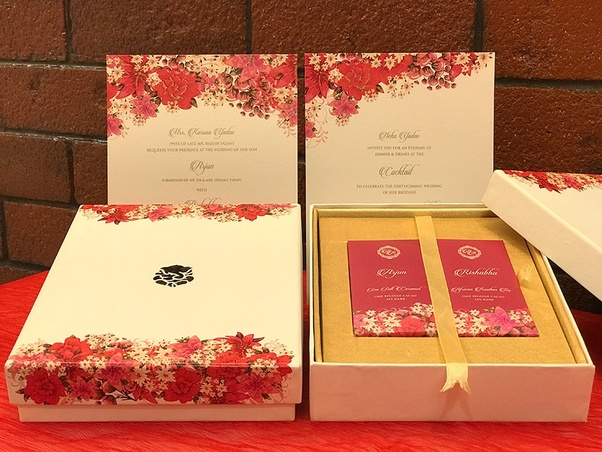 Wedding Invitation In A Box: What Are Some Of The Most Creative Indian Wedding Cards