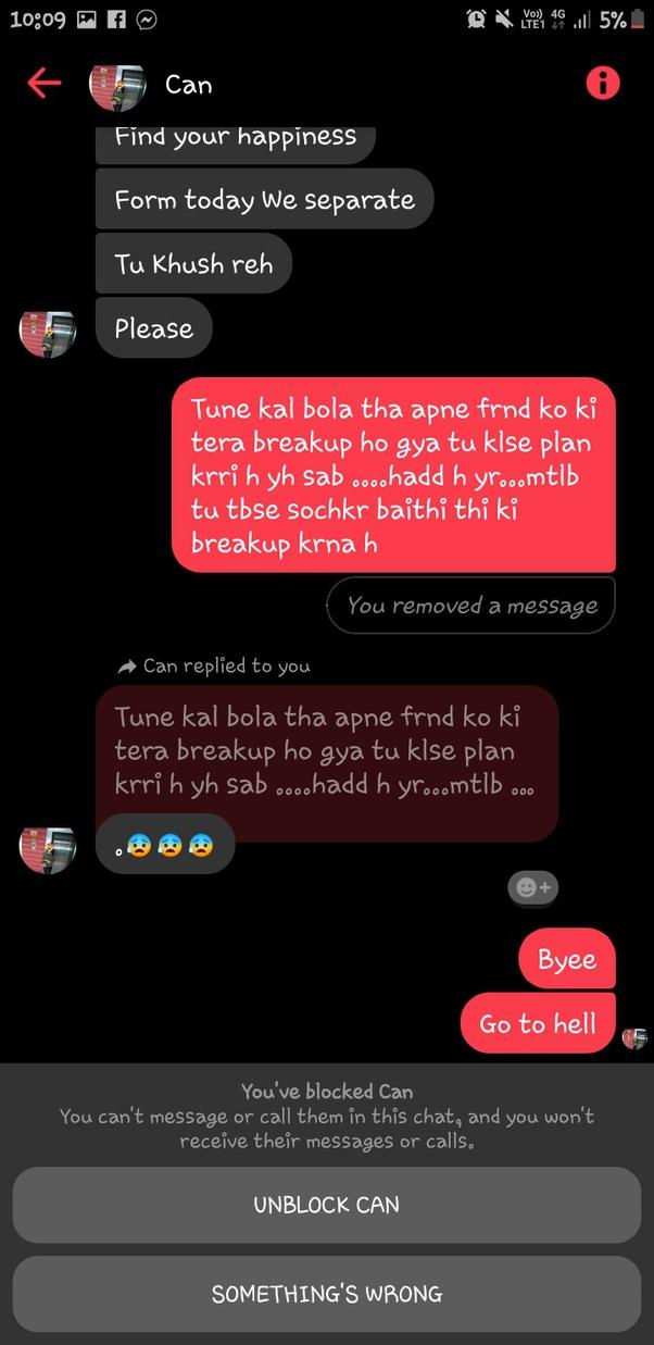 Letter sweet break up Break Up