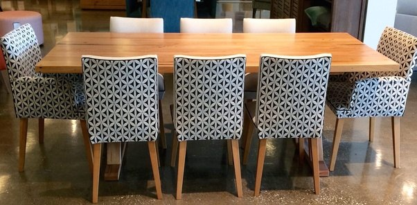 Made To Order Portland Dining Table With Customised Upholstered Maision  Dining And Carver Chairs, From Urban Rhythm.