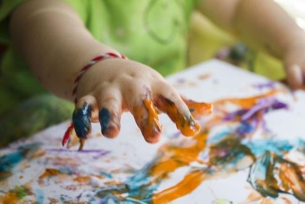 2 4 Girls Finger Paint