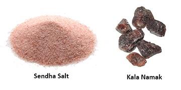 Are Sendha salt and black salt the same? - Quora