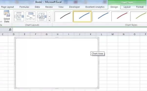 In excel how can i plot y vs x if it keeps on defaulting to making now click on the chart go to ribbon chart tools design select data ccuart Gallery