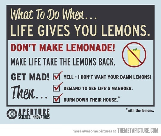 when life gives you lemons similar quotes