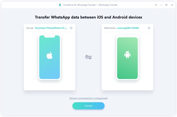 How To Transfer Whatsapp Messages From Ios To Android Quora