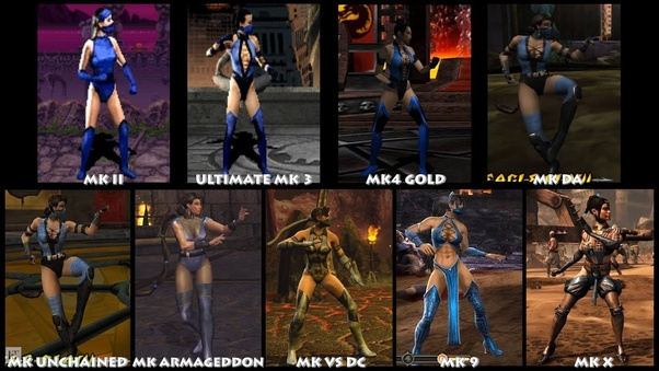 In The Past Mortal Kombat Games Kitana Looked Hispanic Arab And Mixed But In Mortal Kombat 11 They Made Her Look Asian Why Did They Make Kitana Look Asian In Mortal Kombat