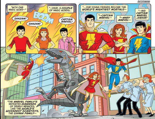 All Of This Is To Say That There Was No Name Change Only A New Version The Character DC Decided As Shazam