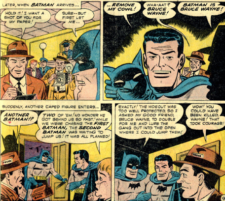 Is it actually obvious that Bruce Wayne is Batman? - Quora