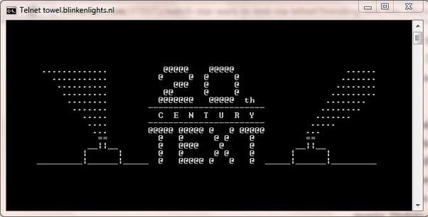 Command prompt telnet movie