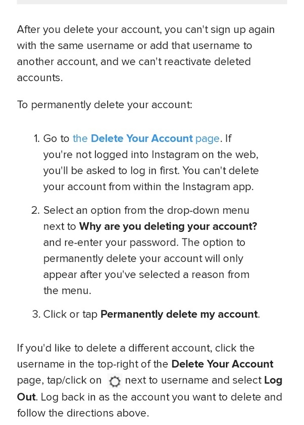 How to delete my instagram account permanently quora cheers ccuart Image collections
