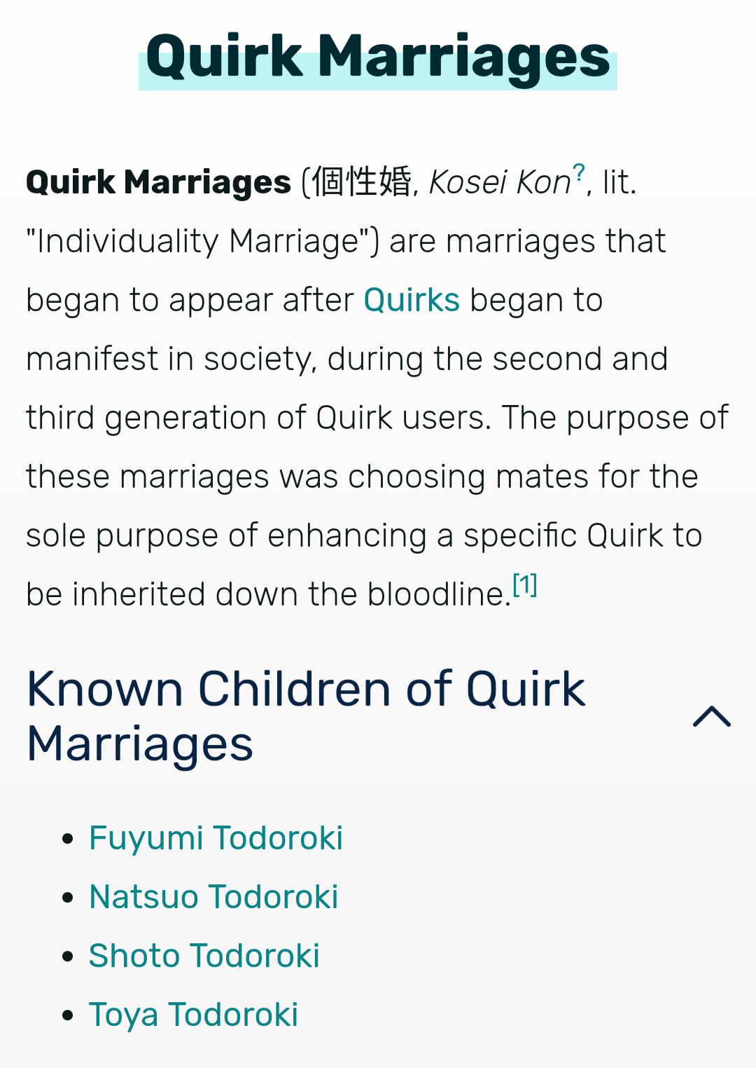 By Photo Congress || Bnha Wiki Quirks