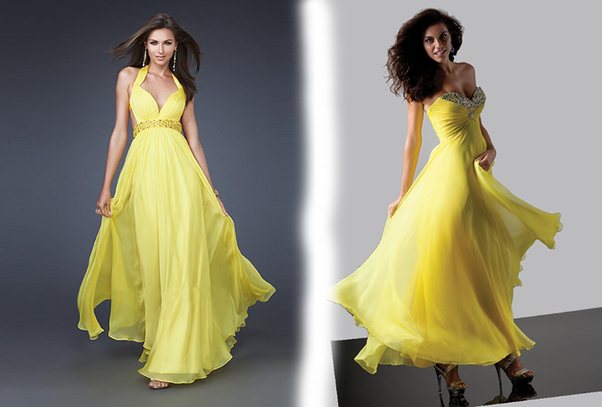 How To Accessorize A Yellow And Silver Dress