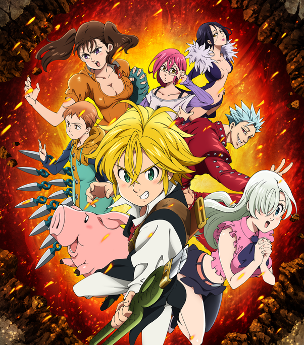 7 Deadly Sins Anime