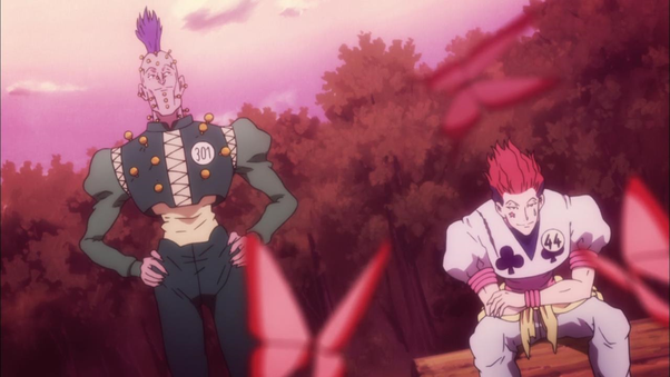 I Have Been Waiting To See Hisoka And Illumi Fight For The Longest Time They Are Both Monsters Within Series Who Seem Get Along Pretty Well