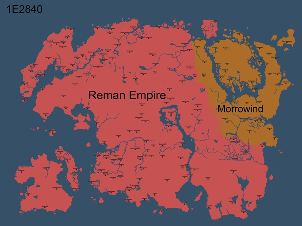 Are There Any Political Maps Of Tamriel As Of The Second Elder