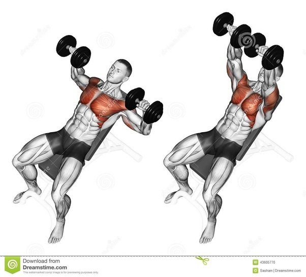 my shoulders get exhausted before chest while doing chest exercise  dumbbell bench press and