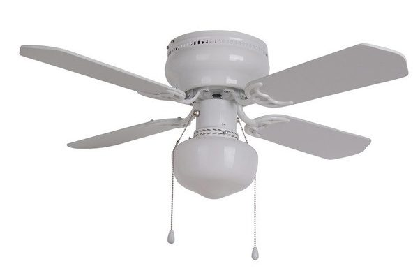 Why Do Ceiling Fans In The US Have 4 Or 5 Blades And
