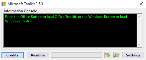 click the office logo which is right next to the progress bar go to the activation tab and under that toolkit should have detected your version and then