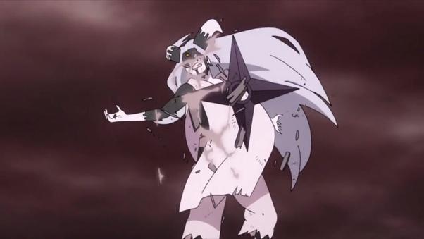What did you think about the Momoshiki vs  Naruto and Sasuke