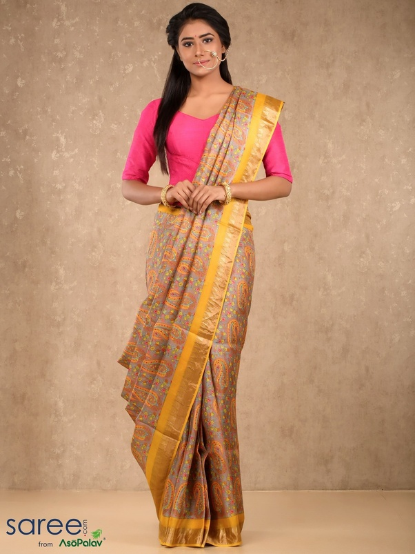 8cacd56c9b0a5 While the finest form of silk sarees are made from the yarns obtained from  mulberry worms