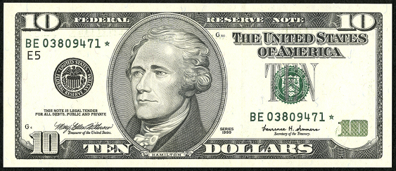 How to tell what a 10 dollar bill from 1950 looks like - Quora