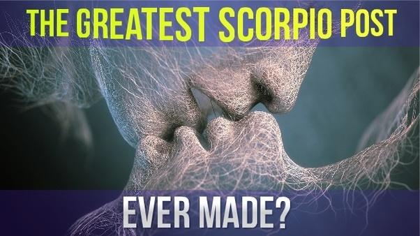 Double scorpio man