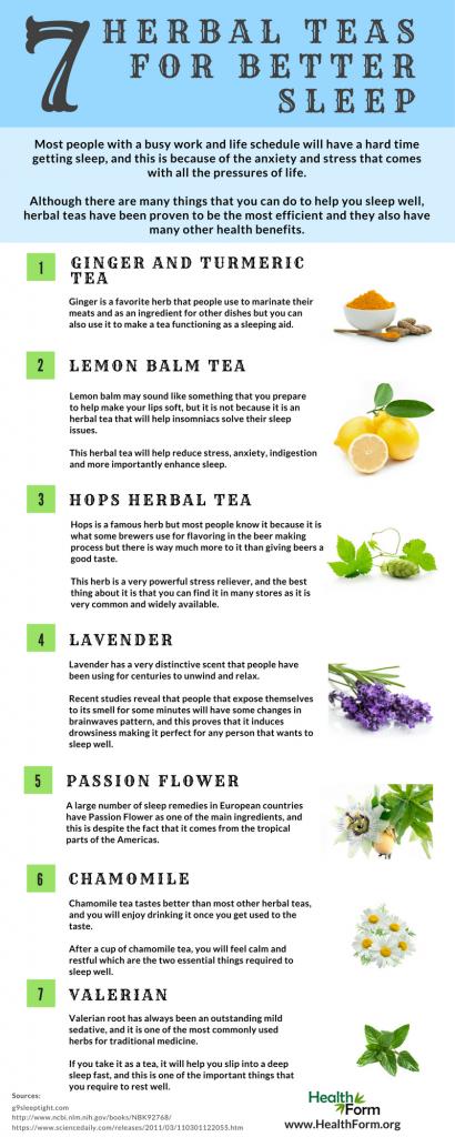 Strong Br A Href Https Www Healthform Org 7 Best Herbal Teas To Help You Sleep Well Img