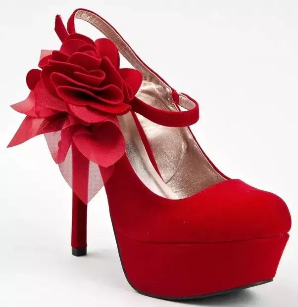 What colour of high heels are the most common? - Quora