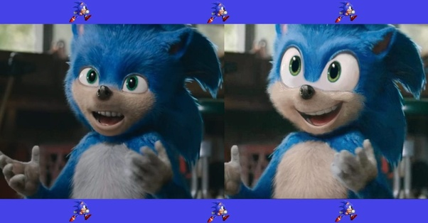 What Was Wrong With Visual Design Of Sonic The Hedgehog And Why Quora