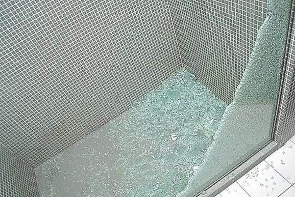Whats It Like To Run Through A Glass Door By Accident Quora