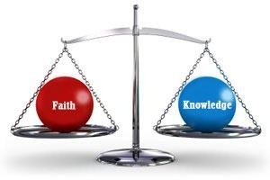 the relation between faith and knowledge For knowledge, when it gains permission to call itself faith, requires no miracle it  would rather be.