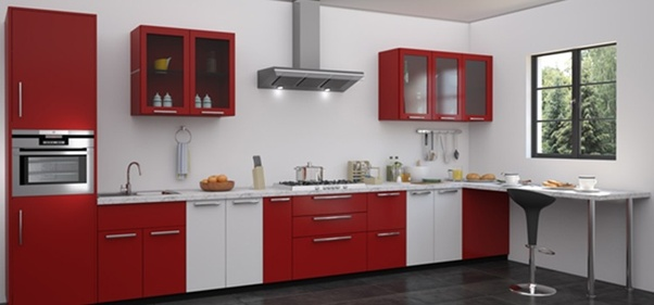 If You Want A Dramatic And Innovative Look For Your Kitchen Choose An Unconventional Contemporary Shade Like White Red
