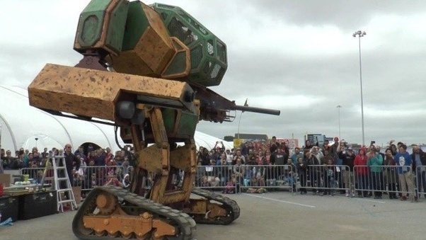 ... Of Armor On The Battlefield, But Imagine A Giant Mechanical Suit Of  Armor On The Battlefield, How Cool Is That! See: MegaBots: Giant Fighting  Robots