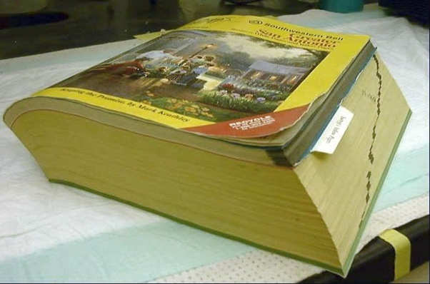 When was the last time you saw a phone book? - Quora