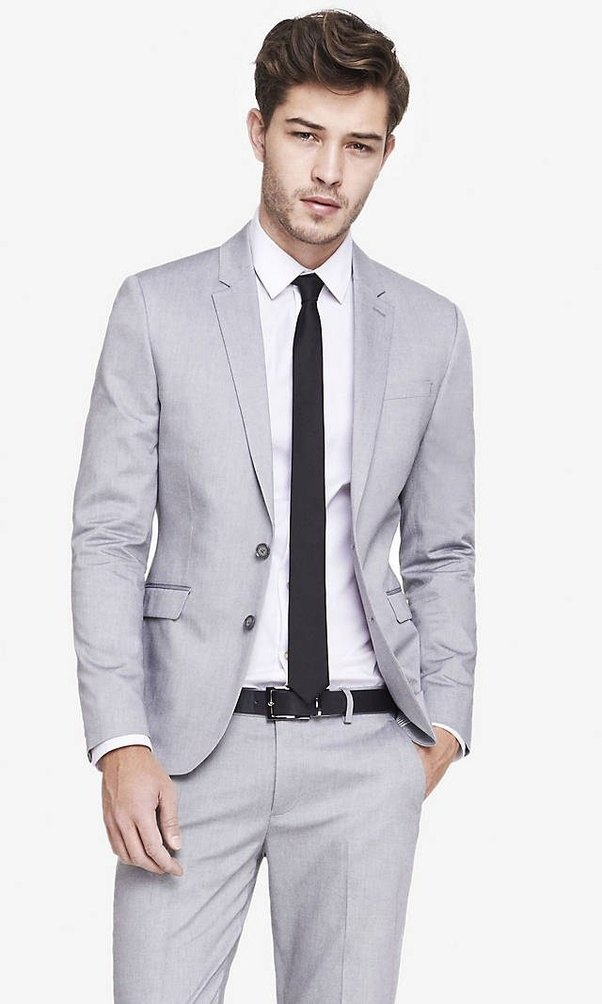 What should I wear with light grey blazer in brotheru0026#39;s marriage? - Quora
