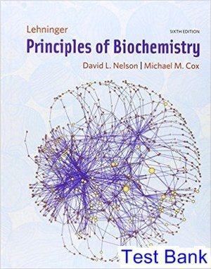 Where Can I Find A Test Bank For Lehninger Principles Of Biochemistry 6th Edition By David L Nelson Quora