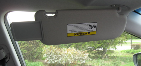 The Sun Visor and many such additional features in a car help in aiding the  drivers  comfort in using the Car as intended i.e. Safely Moving from Point  A to ... 928f716d311