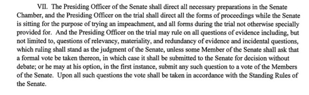 How many senators must vote to override specific judgments ...