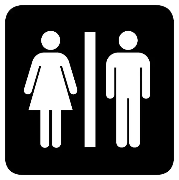 What Is The Origin Of The Symbols On Public Restrooms Quora