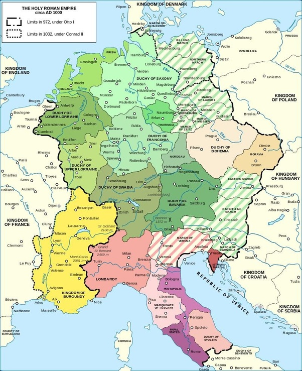 Revived Roman Empire Map.Would Reviving The Holy Roman Empire As An A Political Cultural