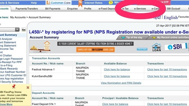 What are the documents required to transfer the sbi savings account click on the option of transfer of savings account as shown in the following figure thecheapjerseys Choice Image