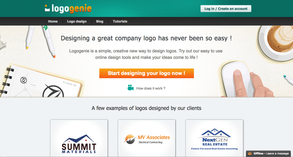 are there any free logo makers quora