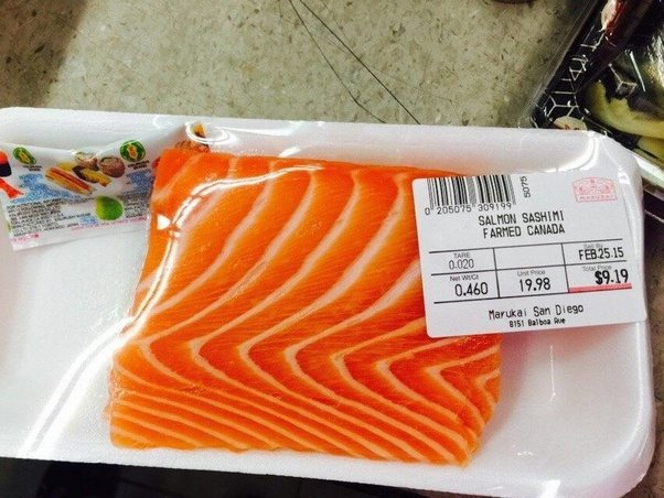 Whole Food Market Norwegian Salmon Sushi Grade