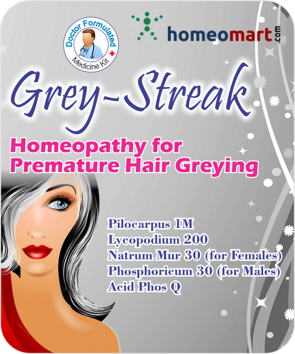 Is it possible to cure grey hair by homeopathy? - Quora