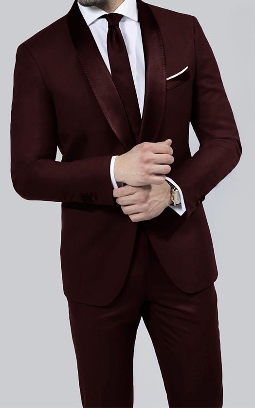 what color ties can i wear with a maroon suit and a black