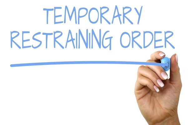 Do temporary restraining orders appear on employment