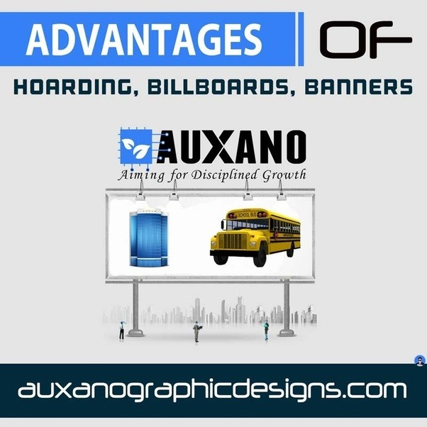 advantages and disadvantages of billboards banners and signs Billboards can be placed at high-traffic areas or other strategic locations, while transit signs can be affixed to the backs and sides of buses, in bus stops, and in the disadvantages are: i brevity: the very nature of outdoor advertising demands that the commercial message be briet and relatively simple.